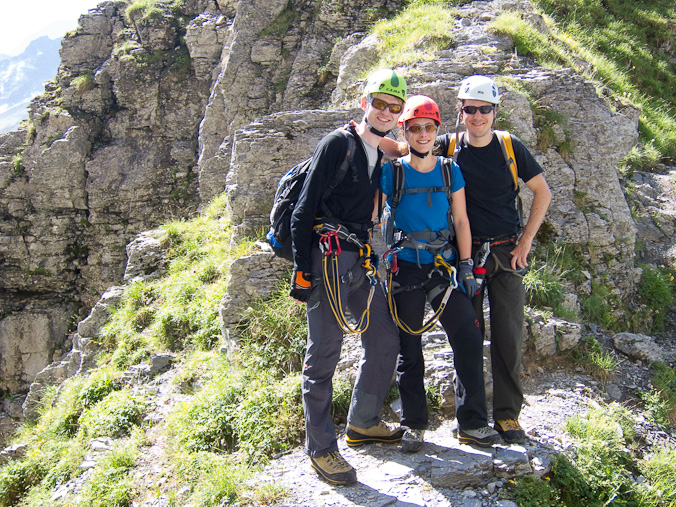 Klettersteig Tälli : Klettersteig tälli 16.7.2011
